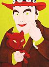 Wouter van Riessen, Zelfportret met rode hoed