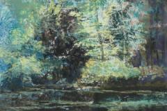 aan-de-vijverrand-KG-V-2019-houtskool-pastel-gouache-30-x-40-cm